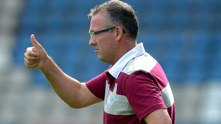 Paul Lambert: Aston Villa manager pleased with trip to Germany