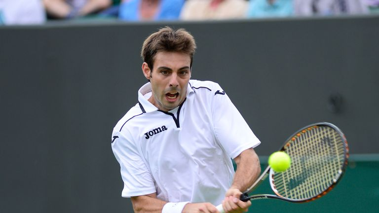 Marcel Granollers: Spaniard will take on either  Thomaz Bellucci or Federico Delbonis in second round