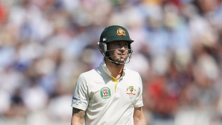 Michael Clarke: Harsh words for batting order after defeat in second Test