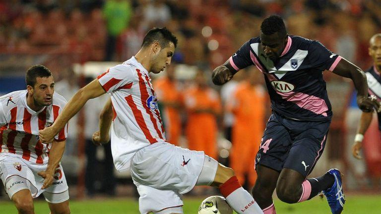 Nikola Maksimovic (centre): Has made the move from Red Star Belgrade to Torino