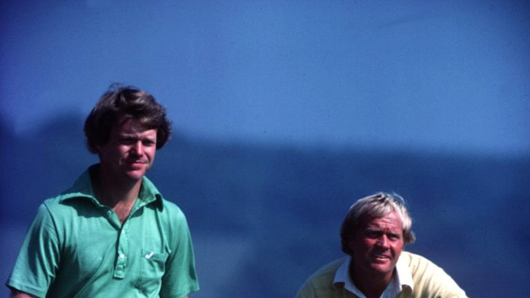 Tom Watson and Jack Nicklaus battle it out at Turnberry in 1977
