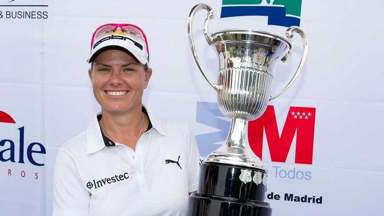 Lee Ann Pace winner in Madrid on Sunday