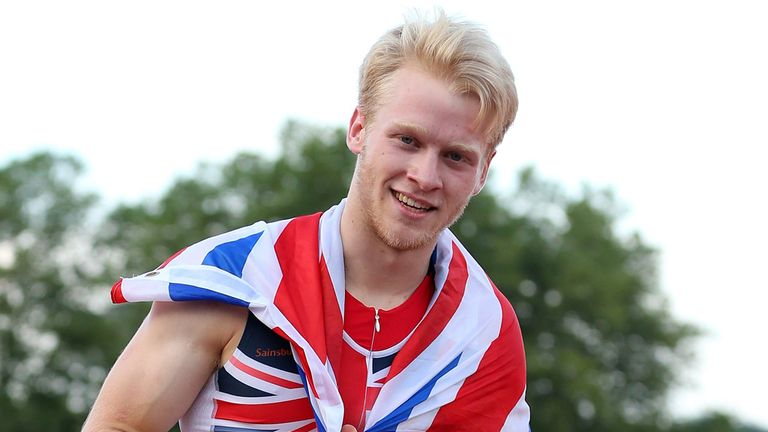Jonnie Peacock: Stumble at the start did not cost the Briton gold