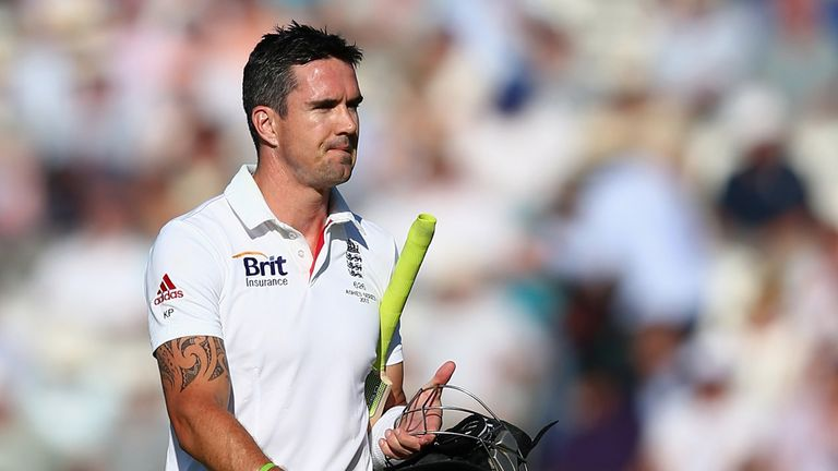 Kevin Pietersen: Hoping to shake off a calf injury before Old Trafford Test