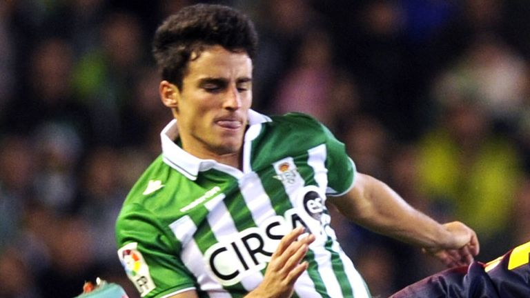Alejandro Pozuelo: Real Betis midfielder has joined Swansea on a three-year deal