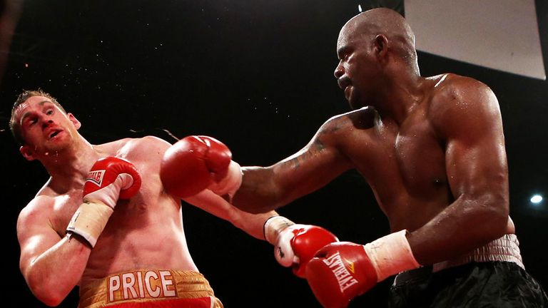 Tony Thompson: Stopped David Price in round five