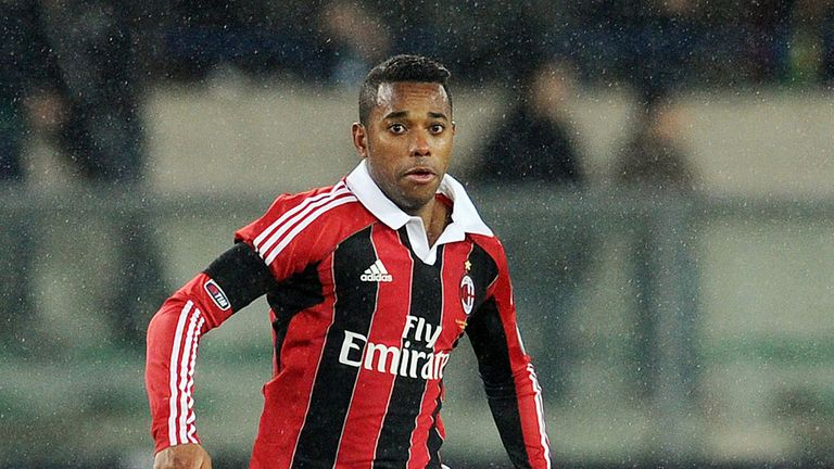 Robinho: Will need to lower his wage demands if he wants to return to Santos