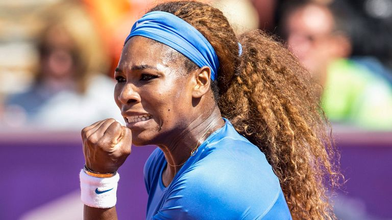 Serena Williams: Hoping for a morale-boosting victory in Toronto