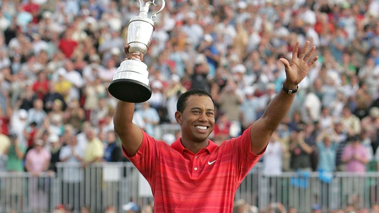 Tiger Woods: Hoylake's last Open champion