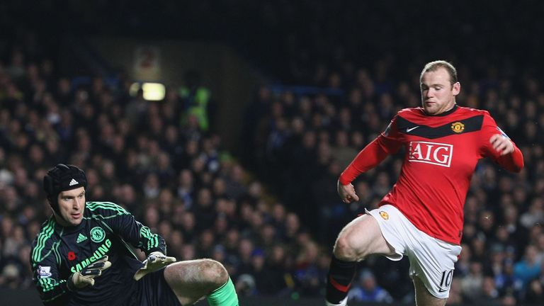 Petr Cech: Would welcome Wayne Rooney to Stamford Bridge