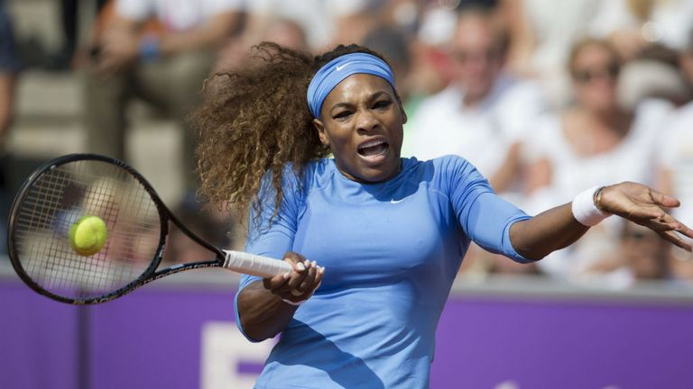 Serena Williams: Will face Lourdes Dominguez Lino in the last eight in Bastad