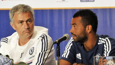 Jose Mourinho feels Ashley Cole deserves a place in England's World Cup squad
