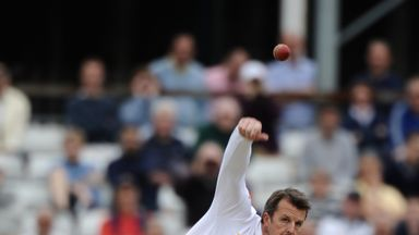 Graeme Swann: Took five Essex wickets to inspire England