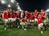 British and Irish Lions celebrate their success in Sydney in July