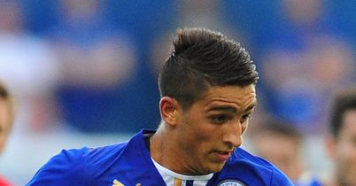 Anthony Knockaert: In action for Leicester City