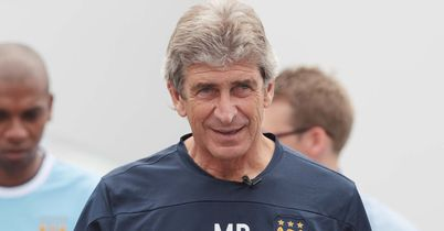 Manuel Pellegrini: Praised his players mentality