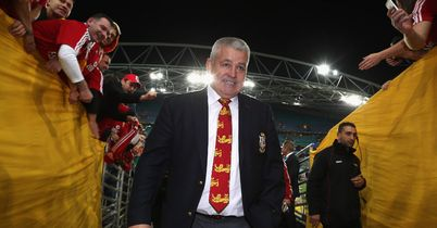 Gatland up for leading Lions