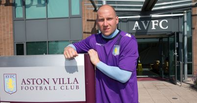 Brad Guzan: Signed his new deal at Bodymoor Heath
