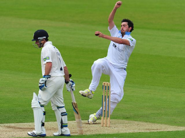 Mark Footitt: Took four wickets for Derbyshire