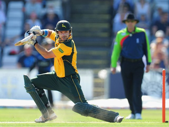 Michael Lumb: The star for Nottinghamshire