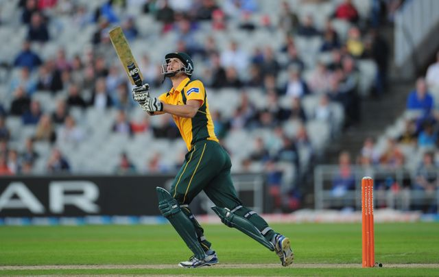 Alex Hales: Made 74 as Nottinghamshire clinched top spot in Group A