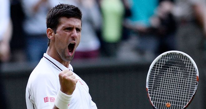 Novak Djokovic: Is vying for a place in a 13th consecutive grand slam semi-final