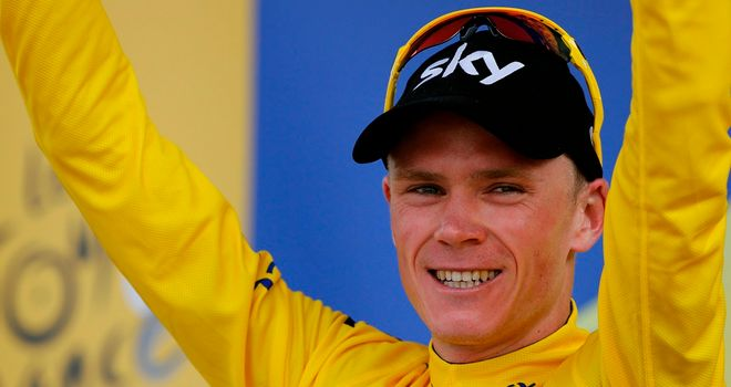 Chris Froome admitted it was an emotional victory