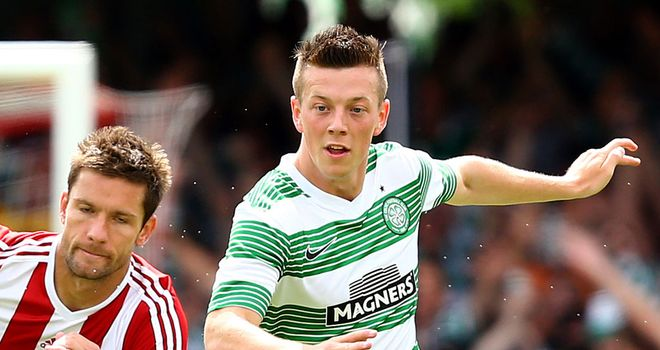 Callum McGregor: Scored with 20-yard strike