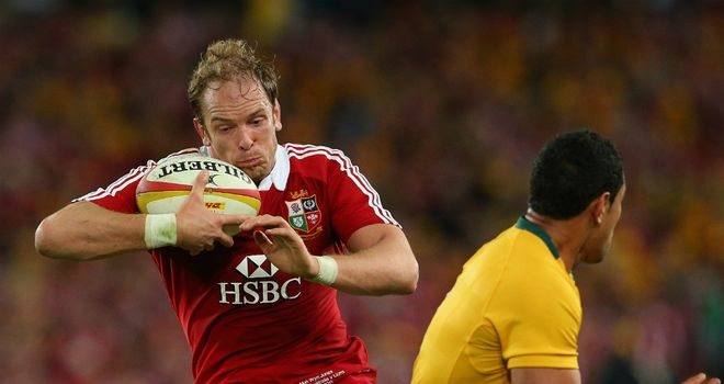 Alun-Wyn Jones: Captained the Lions to glory