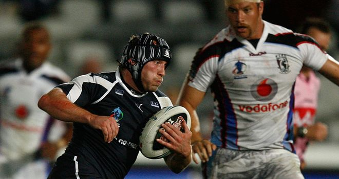 Andrew Henderson, pictured playing for Scotland in 2008, is plotting London Broncos' downfall on Friday