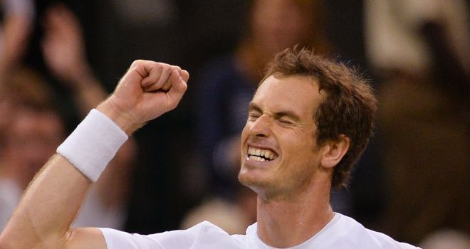 Andy Murray: Overcame big-serving Jerzy Janowicz in four sets