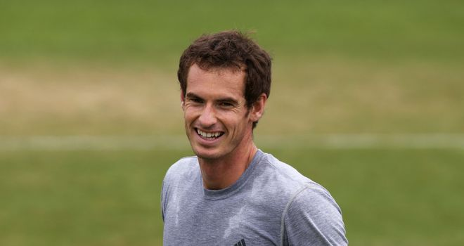 Andy Murray in relaxed mood as he prepares for Wednesday's quarter-final