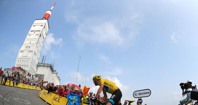 Froome: Looking to reach the heights again in 2014
