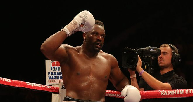 Dereck Chisora: Next in line to challenge for the European title