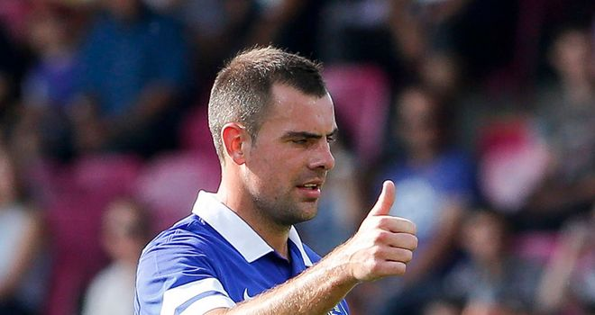 Darron Gibson: Could feature against Stevenage