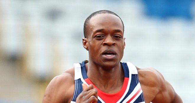 James Dasaolu: Hip injury rules him out of relay action