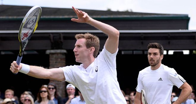 Jonny Marray: Was unable to defend his doubles title with new partner Colin Fleming