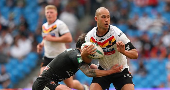 Keith Lulia: Returns to the NRL after two years in Super League with Bradford