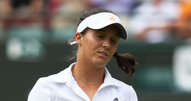 Laura Robson: Bowed out of Wimbledon after defeat to Kaia Kanepi