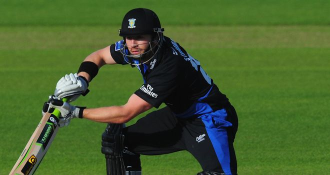 Mark Stoneman: Lashed a half-century in revised target