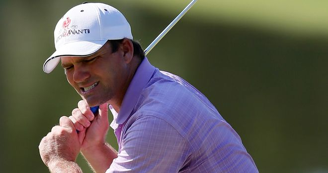Nicholas Thompson: Shares the third-round lead in Mississippi