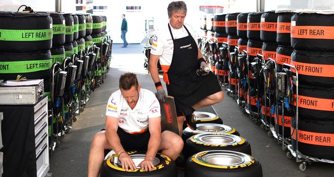 Pirelli: Have been busy preparing new-look tyres for Silverstone