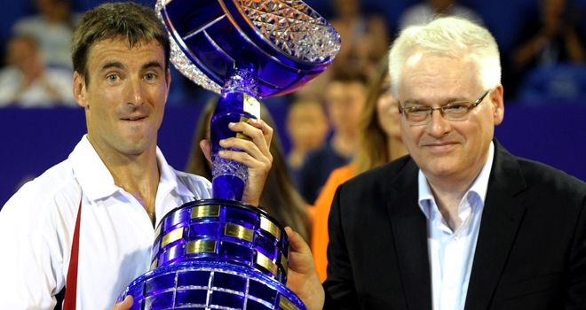 Tommy Robredo: Brushed aside Fabio Fognini in the final of the Croatia Open