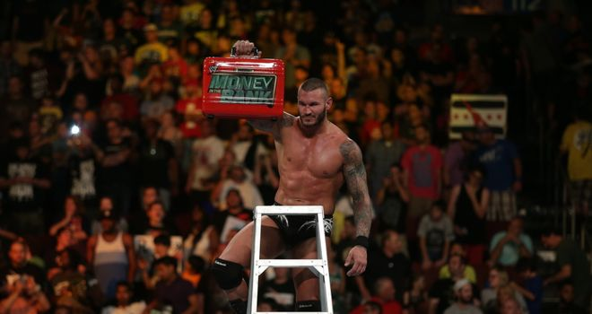 Orton: plucked the WWE Championship Money in the Bank briefcase in Philadelphia