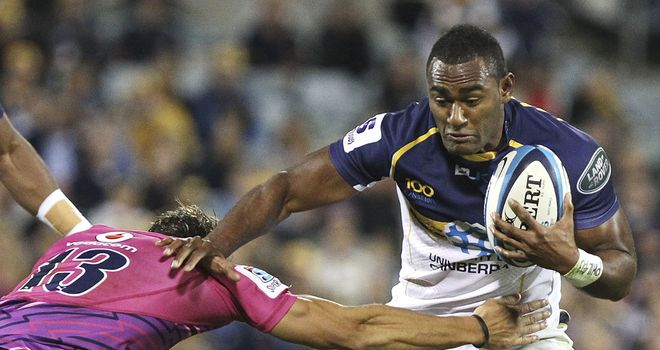 Tevita Kuridrani: Starts at outside centre for Australia
