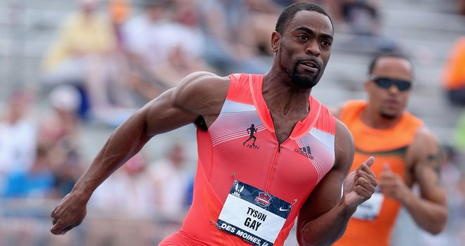 Tyson Gay: American sprinter accepts one-year ban