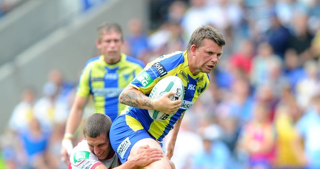 Lee Briers: Signed new contract with Warrington