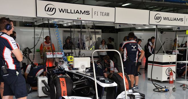 Williams: Suffered KERS failure