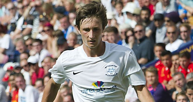 Ben Davies: On loan from Preston