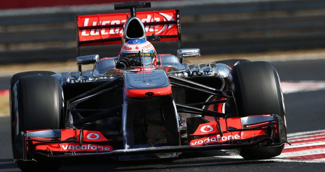 Jenson Button: Qualified 13th in Hungary